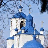 голубое на голубом :: Евгений Фролов
