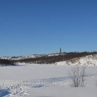 Мурманск. Семёновское озеро. :: Ольга Оглоблина