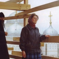 В Пафнутьевом монастыре г. Боровска Калужской обл. (пленка + сканер) :: Андрей Лукьянов