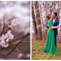 Дмитрий, Анна & весна... :: Olga Zemlyakova