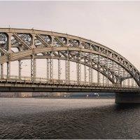 Большеохтинский мост :: Борис Борисенко