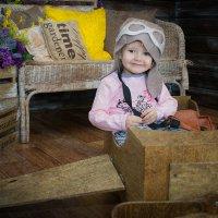 Маленький пилот :: Анастасия Ульянова