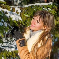 Зимой в парке :: Евгений Кузьминов