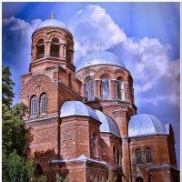 Храм Георгия Победоносца, город Ахтырка :: Евгений Кочуров