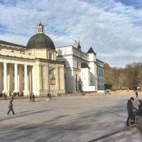 Вильнюс. Кафедральная площадь. Март :: Alexandr Zykov