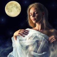 Теплый свет Луны :: Сергей Великанов