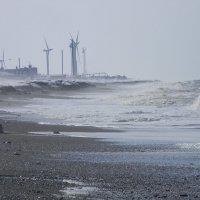 Ветряки на Охотском Море :: Олег Романенко