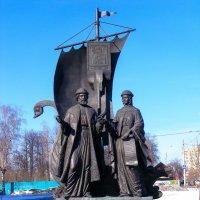 Памятник дружной семье :: Владимир Максимов