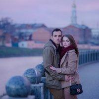 фиолетовый закат :: Gannochka