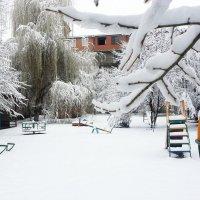 садик в снегу :: Батик Табуев