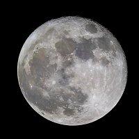 Moon 18/11/13. Sewn five frames :: ViP_ Photographer