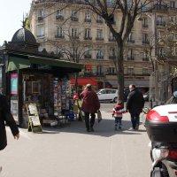 Это просто улицы Парижа. :: Елена Мартынова