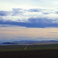 Полет тучи над Ольхоном. :: Виктор Заморков