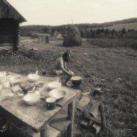 На охоте, 1983 год :: Борис Соловьев