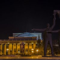 Огни родного города. Новосибирск. :: Татьяна Степанова