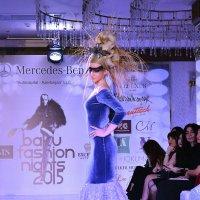 Гламурные причёски на Baku Fashion Nights 2015 :: Эрик Делиев