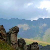 На северном склоне Эльбруса.Высота около 3000 м. :: Vladimir 070549