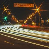Огни ночного города :: Дмитрий Чернов