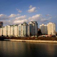 Городок наш разделяет река :: Андрей Сотников
