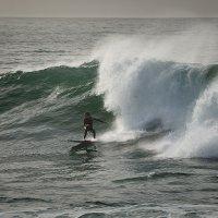 Убегая от волны... :: Дмитрий Бакулин