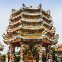 Китайский домик :: Мария Сидорова