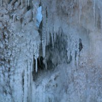 Ледяное царство Медового водопада :: Светлана Попова