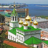 Н.Новгород.Вид  со стены кремля :: petyxov петухов