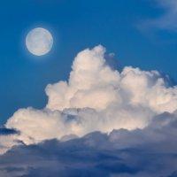 На вату облака похожи :: Анатолий Клепешнёв