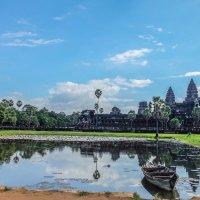 Камбоджа. Ангкор Ват - самый большой храм в мире! XII век. :: Rafael