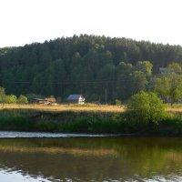 Деревня на реке Белая. :: Вера Щукина