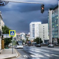 Улица после помывки. :: Андрей Мичурин