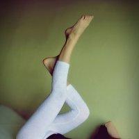 Подымайте ноги выше, и достанете до крыши..) :: Елена