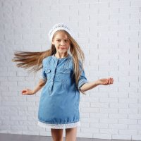 Маленькая модель Тоня :: Татьяна Левкина (Кулакова)