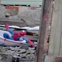 Невероятные приключения человека-паука в России :: NICKIII Михаил Г.