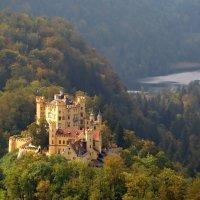 Замок Хоэншвангау   в южной Баварии :: *tamara* *****