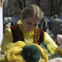 Рукадельница :: Evgeniy Akhmatov