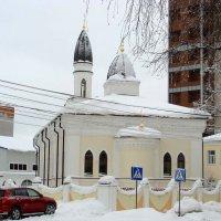 Ярославская соборная мечеть — мусульманский храм Ярославля :: Tata Wolf
