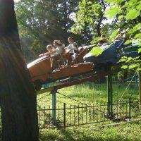 Аттракцион  Ивано - Франковском  парке :: Андрей  Васильевич Коляскин