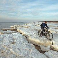 Северодвинск. Весна. Белое море. На велике :: Владимир Шибинский