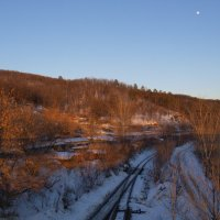 Зимний закат :: Роман Синицын