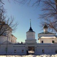 Кирилло-Афанасиевский мужской  монастырь 1615г :: Tata Wolf