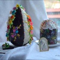 Сердечно поздравляю всех с Праздником Пасхи! :: Anna Gornostayeva