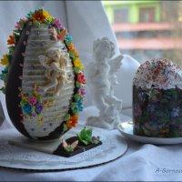 С наступающим Светлым Праздником Пасхи! :: Anna Gornostayeva