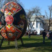 Большое пасхальное яйцо :: Ростислав