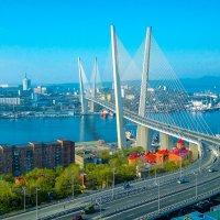 Мост через бухту Золотой Рог. Владивосток. :: SergeuBerg