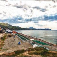 Пляж в Коктебели :: Олег Каплун