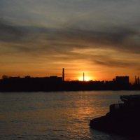 Закат над Невой :: Екатерина Харитонова