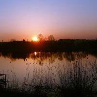 закат в апреле :: георгий  петькун