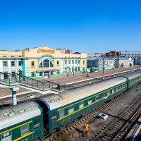 Поезд №4 Москва-Пекин на ст Улан-Удэ :: Алексей Белик