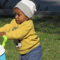 Малыш гуляет, почти сам! :: Герович Лилия